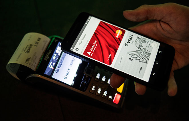 Где платят через Android Pay