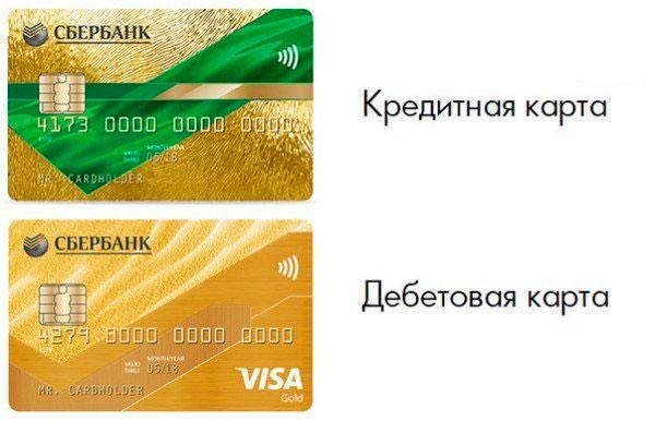 Золотая карта Сбербанка - условия